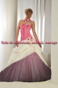 Pin Robe De Mariée Rose Et Blanche on Pinterest