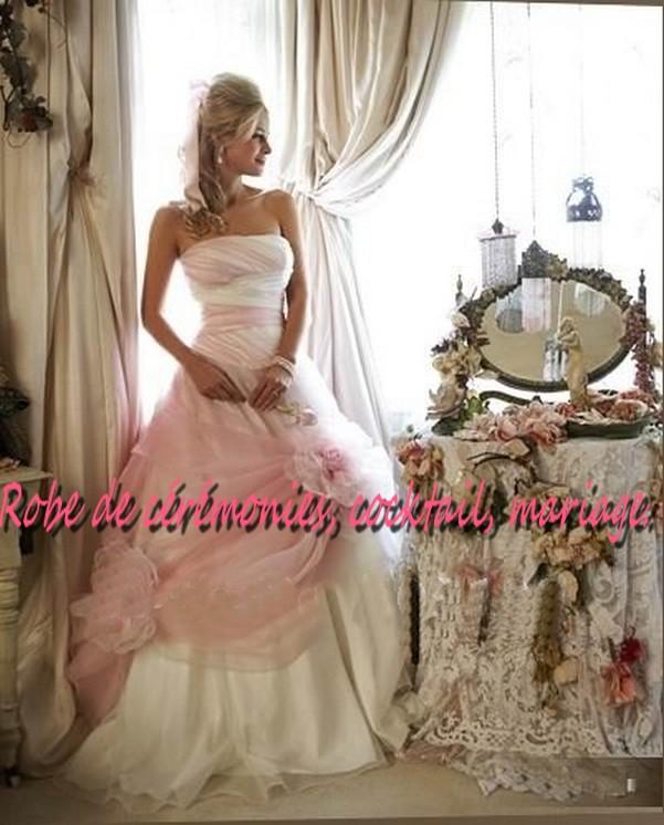 Robe blanche et rose pale la mode des robes de france for Chambre blanche et rose pale